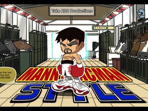 MANNY PACMAN STYLE (PARODY)  PSY - GANGNAM STYLE (강남스타일) M/V