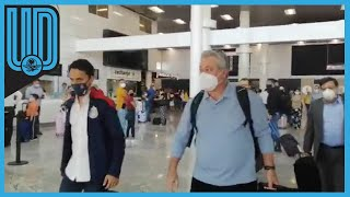 """El """"Rey Midas"""" arribó a Guadalajara listo para incorporarse a Chivas"""