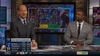 Bill Cowher & Bart Scott Talk About the Detroit Lions Improved Defense