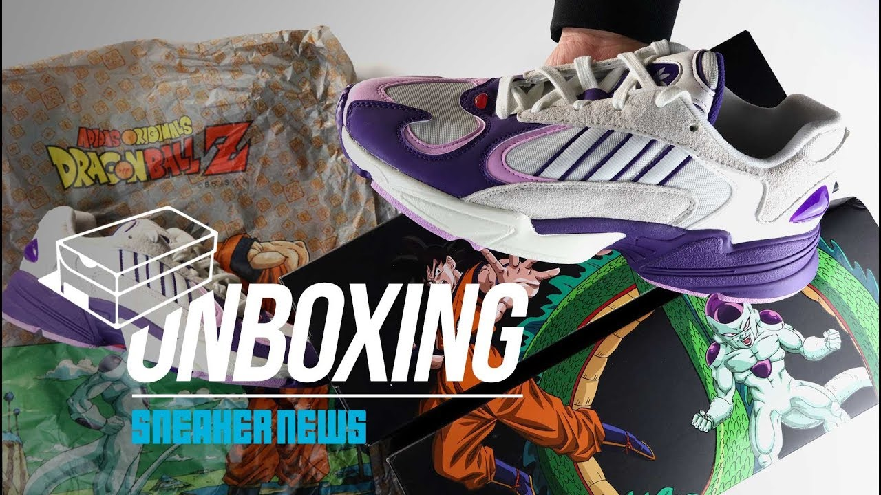 aee0b8fdc21 adidas Dragon Ball Z Frieza Yung 1 Unboxing + Review. Sneaker News
