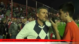 FATV 17/18 Fecha 1 - Talleres 0 - Sacachipas 1 - Entrevistas II