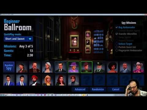 SpyParty New UI Reveal and Discussion Stream