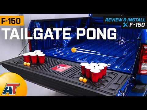 2015-2019 F150 Tailgate Pong Review & Install