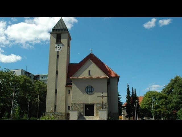 1. adventní neděle z kostela sv. Jana Nepomuckého, Brno - Starý Lískovec, 29.11.2020