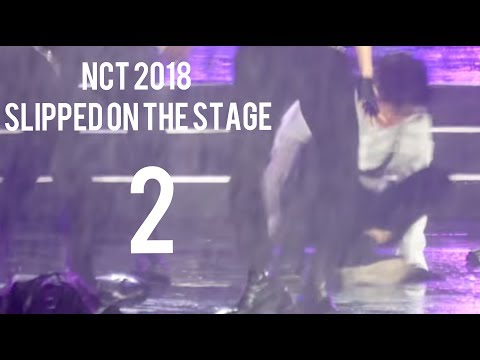● nct 2018 [180512] Slipped on the stage 2 @ Dream Concert 2018 +Dubai