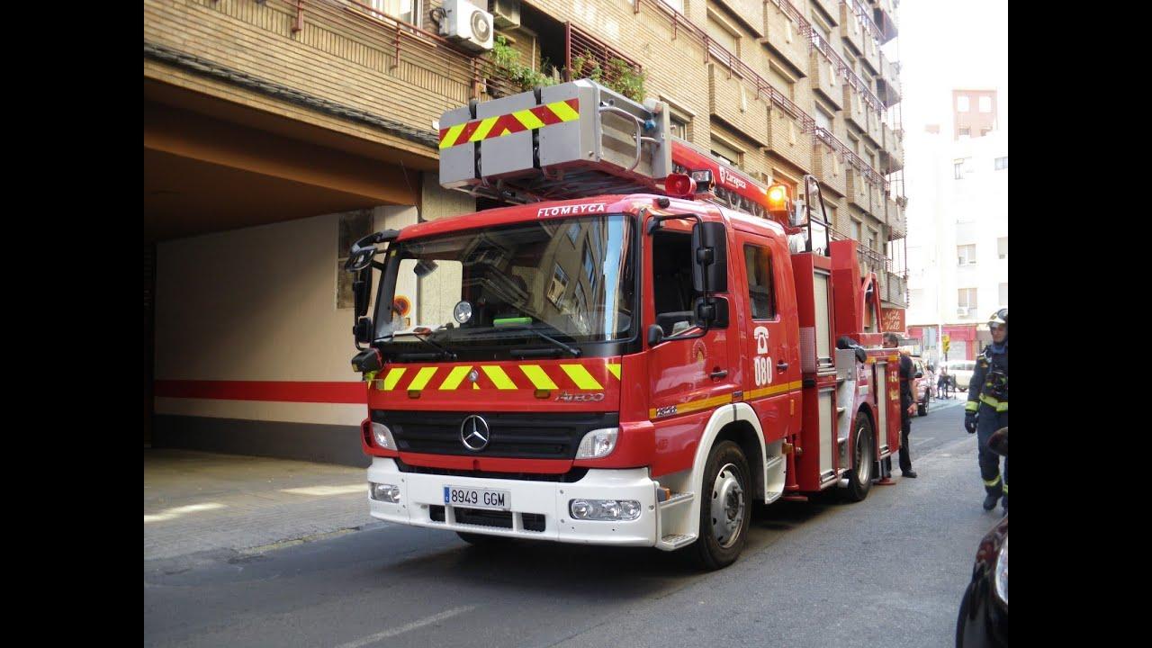 Worksheet. Camin De Bomberos En Accin Por El Centro De Sevilla HD 1080P