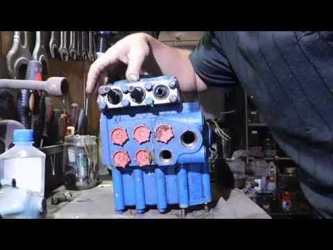 Гидрораспределитель. Подключение и краткое устройство.