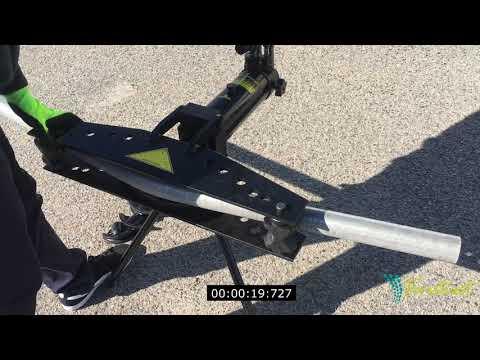 13ton hydraulic pipe bender
