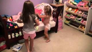 Repeat youtube video Chloe being a big sister...