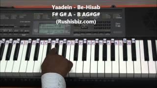 Tere Liye Piano Tutorials - VEER ZAARA