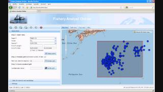 Fishery Analyst Online web GIS application at the ESRI 2010 Mashup Challenge