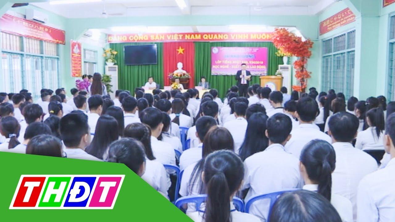 Khai giảng Lớp tiếng Nhật, Học nghề - Xuất khẩu lao động | THDT