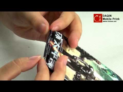 Pacific Rim DIY Mobile skin,custom sticker of cellphone,how to install the skin?