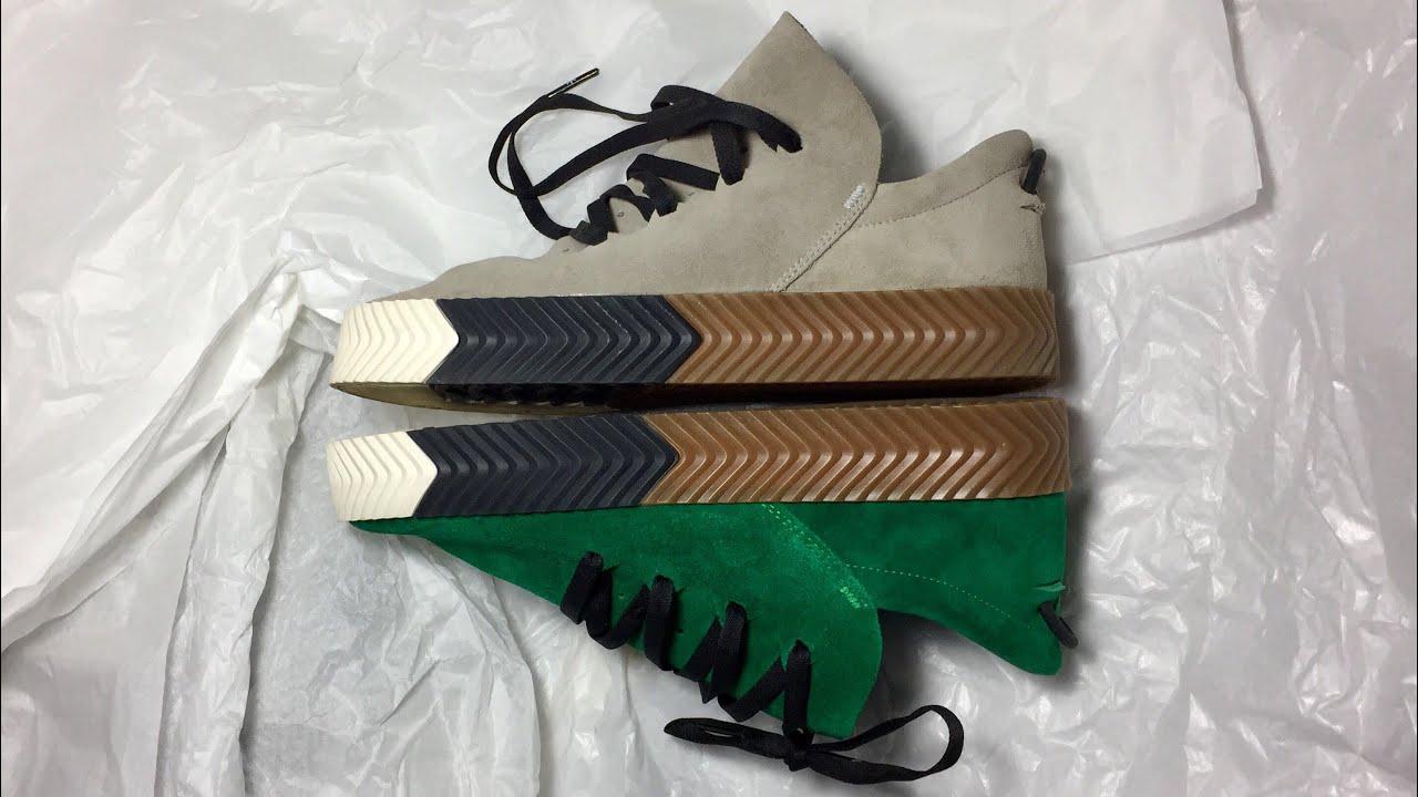 new concept 1de10 355f5 Adidas Alexander Wang AW Skate Review