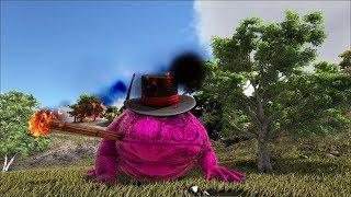 Ark Coop Map Crystal #49: Tiên nhân cóc siêu ngầu hút thuốc