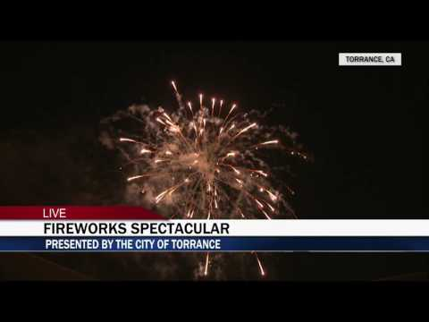 City of Torrance, CA  2017 Pyro Spectaculars Fireworks Show