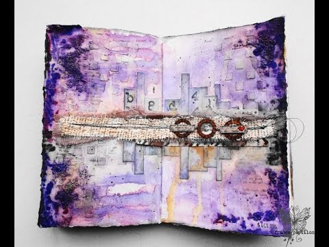 'Take a chance'... art journaling