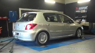 Peugeot 307 1.6 hdi 110cv Reprogrammation Moteur @ 136cv Digiservices Paris 77 Dyno