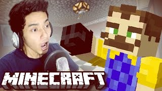 HELLO NEIGHBOR DI MINECRAFT?? | ADVENTURE MAP | Minecraft Indonesia