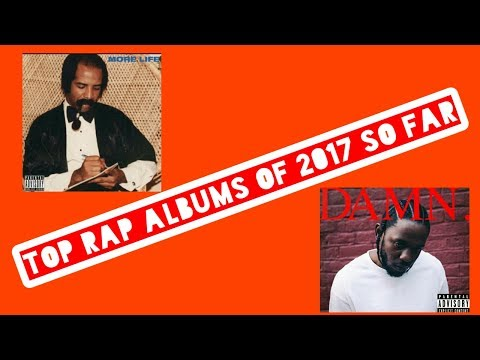 My favourite rap albums of 2017 so far