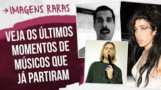 ÚLTIMAS FOTOS EM VIDA DE ÍDOLOS DA MÚSICA | Revista Cifras