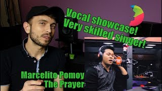 Vocal coach YAZIK reacts to Marcelito Pomoy - The Prayer LIVE on Wish Radio