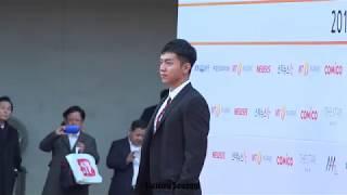 20171115 아시아아티스트어워즈(AAA) 이승기 레드카펫 직캠(FANCAM)