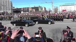 Парад в Мурманске 09.05.2018