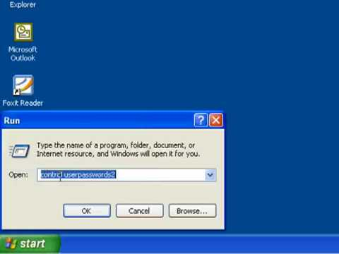 Logging Into Windows XP Without A Password