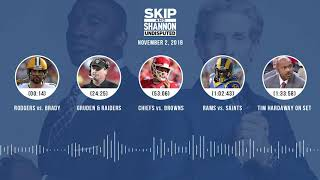 UNDISPUTED Audio Podcast (11.02.18) with Skip Bayless, Shannon Sharpe & Jenny Taft | UNDISPUTED