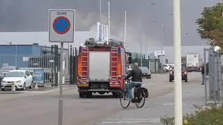 Brandweer uit diverse regio's ingezet bij GRIP 2 zeer grote brand schrootbedrijf AVI Den Bosch