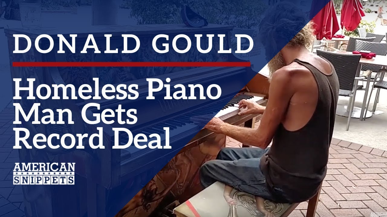 Αποτέλεσμα εικόνας για The Story of Donald Gould - The Homeless Piano Player