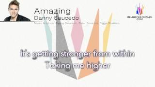 """Danny Saucedo """"Amazing"""""""