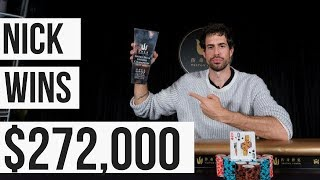 Nick Schulman Wins the $100,000 HDK Triton Poker Short Deck Poker Tournament
