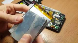 Stell P780 замена аккумулятора ( переделать АКБ )