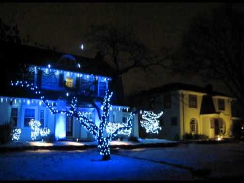 Dripping Icicle Lights Application Example - YouTube