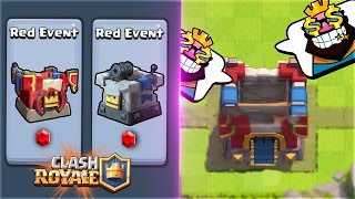NEW KING TOWER DESIGN & RED GEMS!! December RED Event UPDATE Leak for Clash Royale!