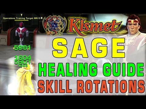 Skill Rotations | SWTOR Sage Healing Guide by Kismet