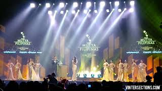 Top 12 Finalists Q&A Round (Part 1 of 2) | 50th Mutya ng Pilipinas 2018