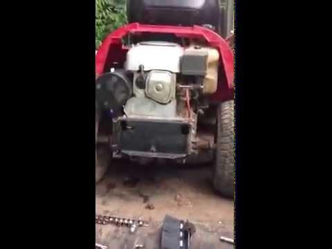 How to fix a Honda harmony 1011 part 13