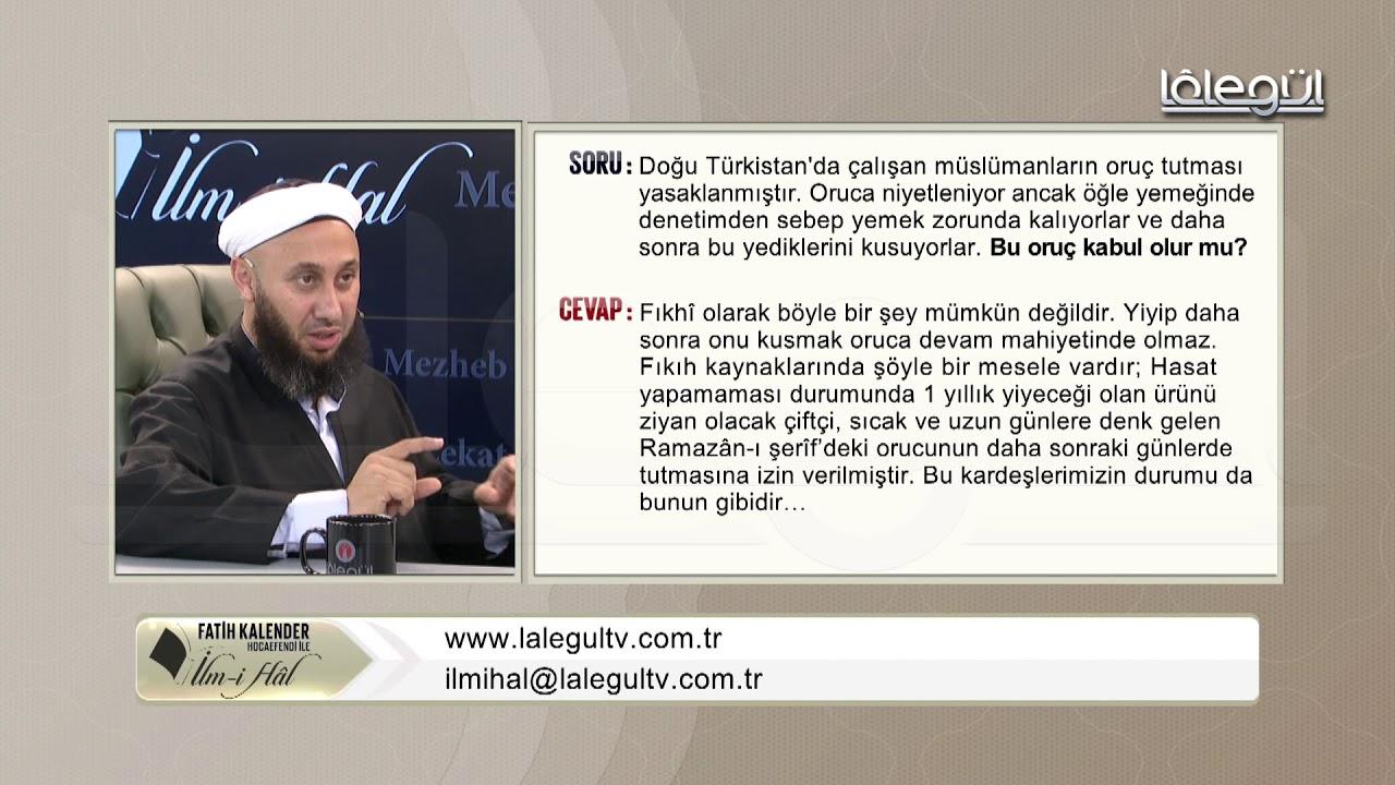 49-Türkistan'da oruca niyetlenen müslümânlar denetimden dolayı yediklerini kusuyor, bu oruç kab