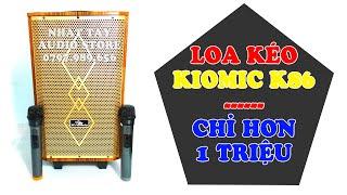 Kiomic K86   Loa kẹo kéo karaoke mini mới nhất 2020