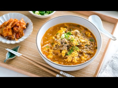 How to Make Kimchi Soup with Malony Glass Noodles (Recipe) キムチスープの作り方 (レシピ) from YouTube · Duration:  5 minutes 36 seconds