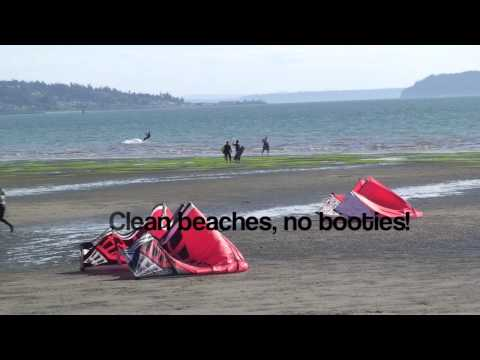 Kiteboarding instruction - Lessons - Jetty Island - Clinic