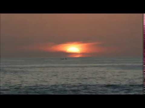 Senja di Pantai Labuhan Jukung Krui Pesisir Barat Lampung