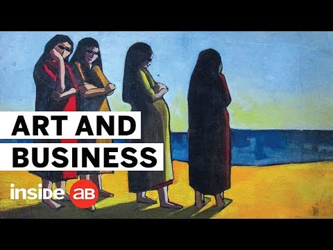 Is there a connection between business and art?