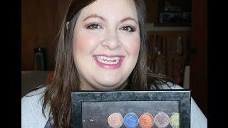 Makeup Geek Foiled Eyeshadows: GRWM Thumbnail