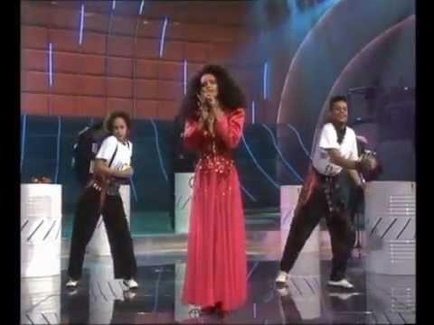 Joëlle Ursull - White and black blues  Eurovision France