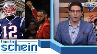 Tom Brady vs LeBron James? | Time to Schein