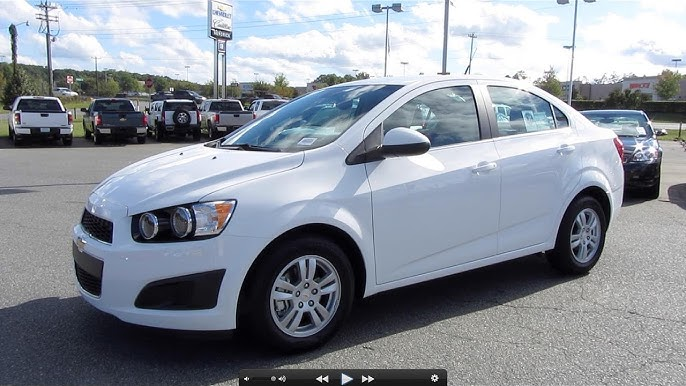 2012 Chevrolet Sonic Lt Start Up Engine And In Depth Tour Youtube